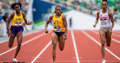 NC A&T Cambrea Sturgis Wins Two National Championships at NCAAs