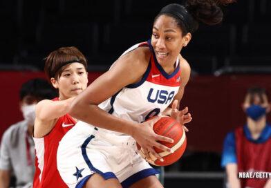 University South Carolina Coach Dawn Staley And Alumna A'ja Wilson Lead U.S. To Olympic Victory Over Japan