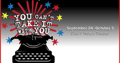 """Central Piedmont Theater Presents """"You Can't Take It With You"""""""